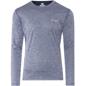 Columbia Zero Rules LS Shirt Men carbon heather